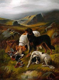Hunting Scene | John Gifford | Painting Reproduction