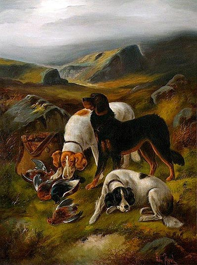 Hunting Scene, Undated | John Gifford | Painting Reproduction