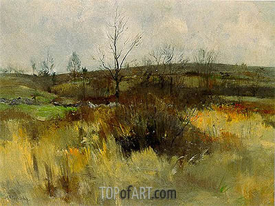 Landscape, 1889 | John Henry Twachtman | Painting Reproduction