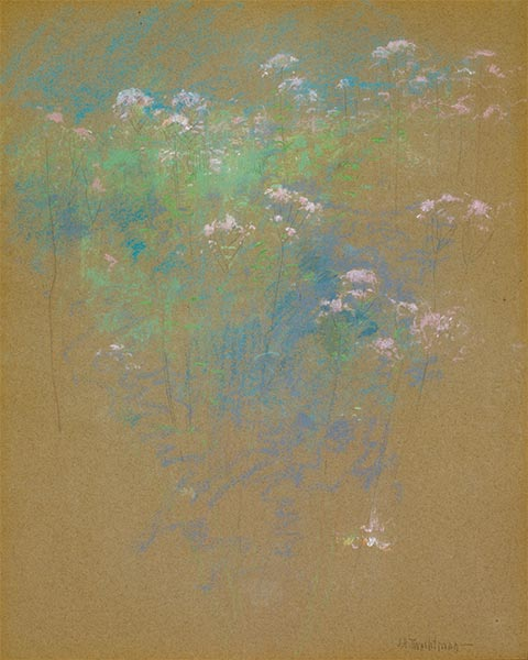 Flowers, c.1900 | John Henry Twachtman | Painting Reproduction