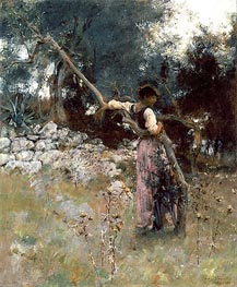 A Capriote | Sargent | Painting Reproduction