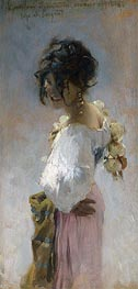 Rosina, 1878 by Sargent | Painting Reproduction
