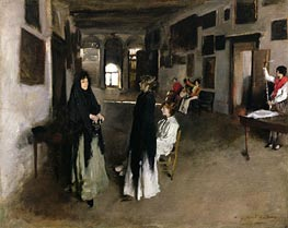A Venetian Interior | Sargent | Painting Reproduction