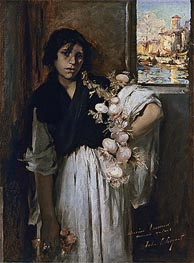 Venetian Onion Seller | Sargent | Painting Reproduction