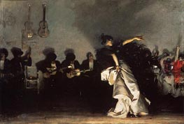 El Jaleo | Sargent | Painting Reproduction