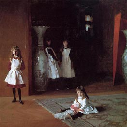 The Daughters of Edward Darley Boit, 1882 von Sargent | Gemälde-Reproduktion