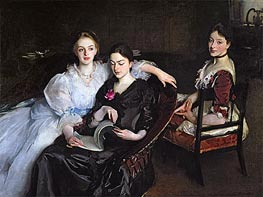 The Misses Vickers, 1884 von Sargent | Gemälde-Reproduktion