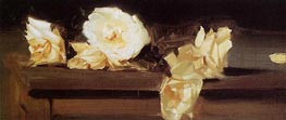 Roses, c.1886 by Sargent | Painting Reproduction