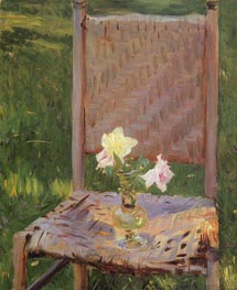 The Old Chair, c.1886 by Sargent | Painting Reproduction