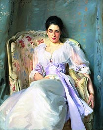 Lady Agnew of Lochnaw, c.1892/93 by Sargent | Painting Reproduction