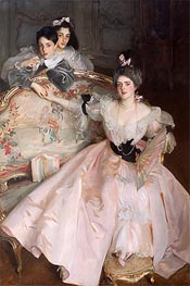 Mrs. Carl Meyer and Her Children, 1896 von Sargent | Gemälde-Reproduktion