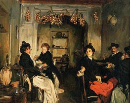Venetian Wineshop | Sargent | Painting Reproduction