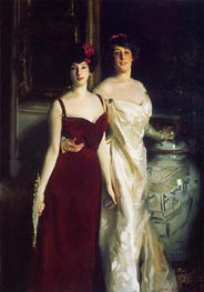 Ena and Betty, Daughters of Asher and Wertheimer | Sargent | Painting Reproduction