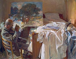 An Artist in his Studio, 1904 von Sargent | Gemälde-Reproduktion