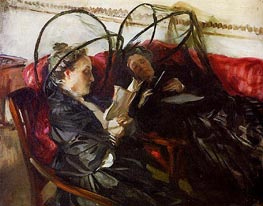 Mosquito Nets, 1908 by Sargent | Painting Reproduction