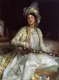 Almina, Daughter of Asher Wertheimer, 1908 von Sargent | Gemälde-Reproduktion
