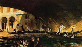 The Rialto | Sargent | Painting Reproduction