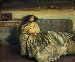 Nonchaloir (Repose) | Sargent | Painting Reproduction