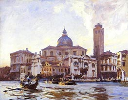 Palazzo Labia and San Geremia, Venice | Sargent | Painting Reproduction