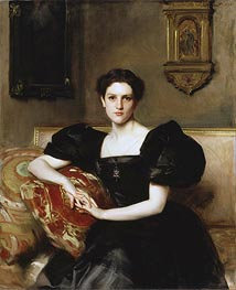 Elizabeth Winthrop Chanler (Mrs John Jay Chapman), 1893 by Sargent | Painting Reproduction