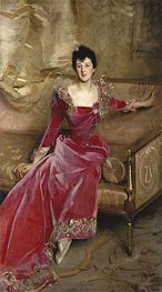 Mrs. Hugh Hammersley, 1892 by Sargent | Painting Reproduction