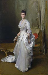 Mrs. Henry White, 1883 by Sargent | Painting Reproduction
