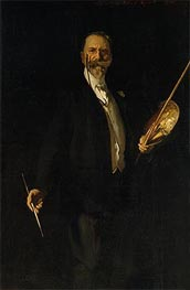 Portrait of William Merritt Chase | Sargent | Gemälde Reproduktion