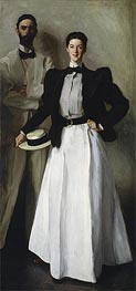 Mr. and Mrs. I. N. Phelps Stokes, 1897 by Sargent | Painting Reproduction