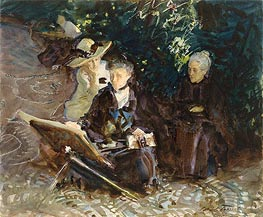 In the Generalife, 1912 von Sargent | Gemälde-Reproduktion