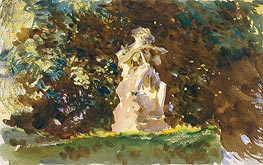 Boboli Garden, Florence, c.1906/07 by Sargent | Painting Reproduction