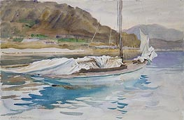 Idle Sails, 1913 by Sargent | Painting Reproduction