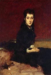 Mrs. Charles Gifford Dyer, 1880 by Sargent | Painting Reproduction