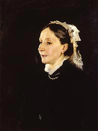Portrait of Mrs. Daniel Sargent Curtis | Sargent | Painting Reproduction