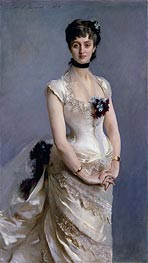 Madame Paul Poirson | Sargent | Painting Reproduction