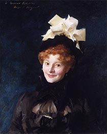 Madame Escudier | Sargent | Painting Reproduction