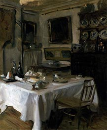 My Dining Room | Sargent | Painting Reproduction