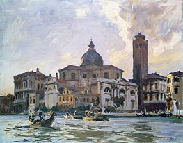 Palazzo Labia, Venice | Sargent | Painting Reproduction