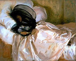 The Mosquito Net | Sargent | Painting Reproduction