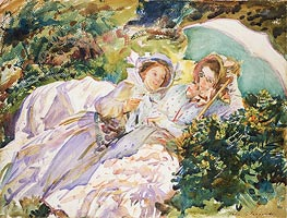 Simplon Pass: The Tease | Sargent | Painting Reproduction