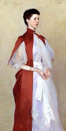 Portrait of Mrs Robert Harrison | Sargent | Painting Reproduction