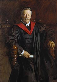 Abbott Lawrence Lowell, c.1923/24 by Sargent | Painting Reproduction