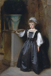The Honorable Laura Lister, 1896 von Sargent | Gemälde-Reproduktion