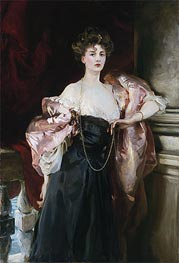 Portrait of Lady Helen Vincent, Viscountess D'Abernon | Sargent | Gemälde Reproduktion