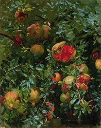 Pomegranates, Majorca, c.1908 by Sargent | Painting Reproduction
