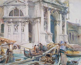 Santa Maria della Salute | Sargent | Painting Reproduction