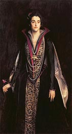 Portrait of the Marchioness of Cholmondeley | Sargent | Gemälde Reproduktion