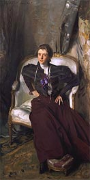 Portrait of Mrs Alice Brisbane Thursby, 1898 von Sargent | Gemälde-Reproduktion