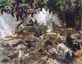 Women at Work | Sargent | Gemälde Reproduktion