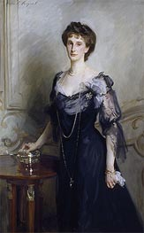 Lady Evelyn Cavendish, undated von Sargent | Gemälde-Reproduktion