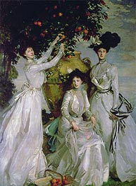 The Acheson Sisters, 1902 by Sargent | Painting Reproduction